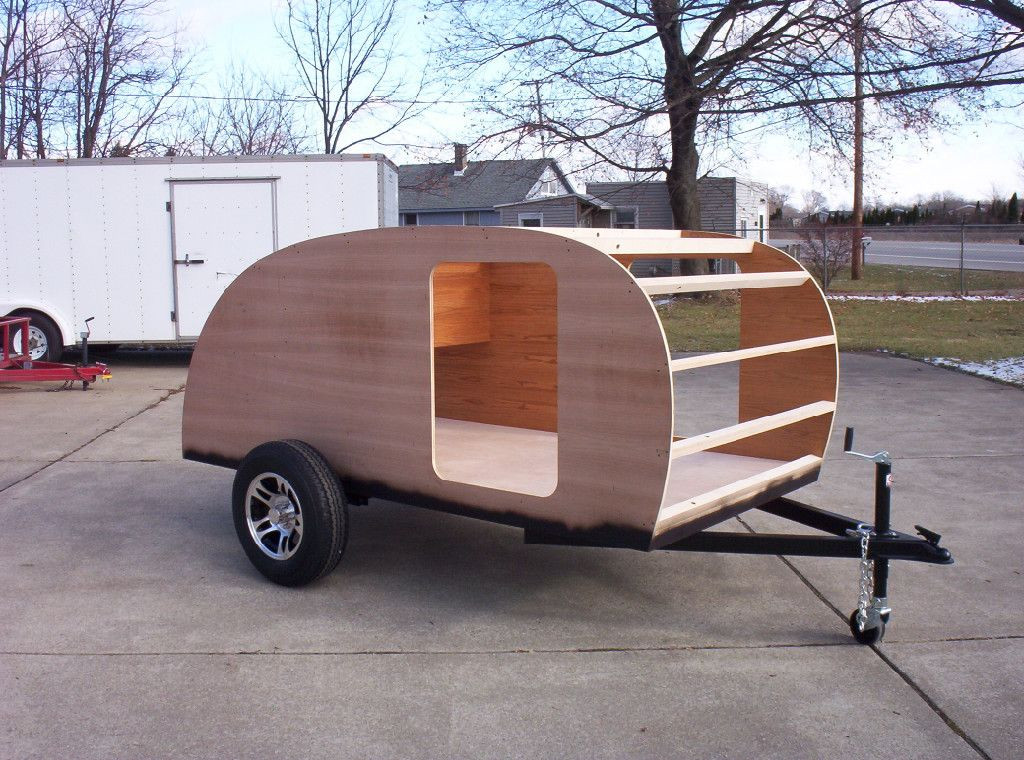 Best ideas about DIY Camper Trailer Kits . Save or Pin Rv teardrop trailer template 10 and sample kit Now.