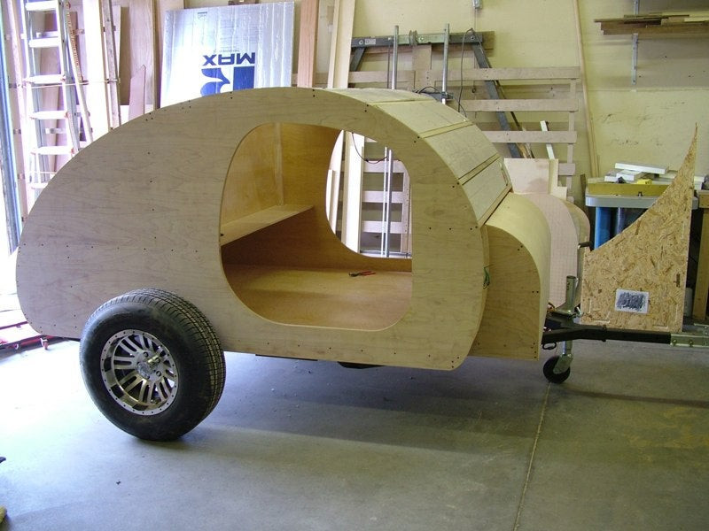 Best ideas about DIY Camper Trailer Kits . Save or Pin Teardrop Trailer Kits Now.