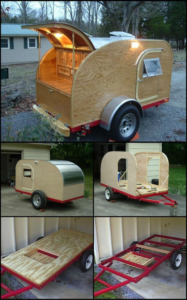 Best ideas about DIY Camper Trailer Kits . Save or Pin Build your own teardrop trailer from the ground up Now.