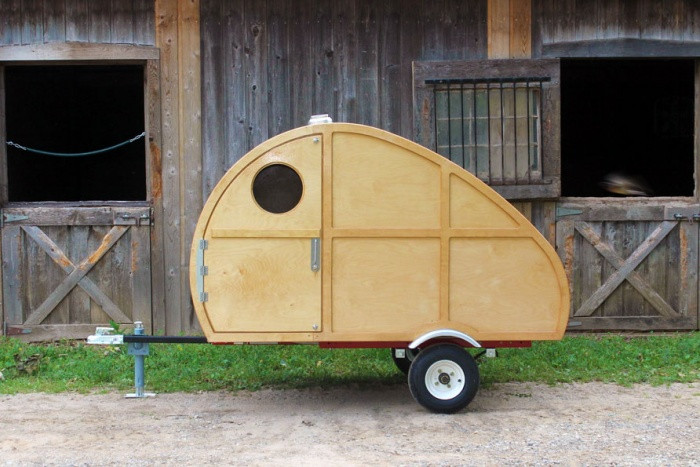 Best ideas about DIY Camper Trailer Kits . Save or Pin DIY Teardrop Kit Build This Camper For Less Than $3 000 Now.