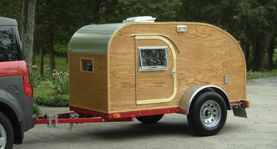 Best ideas about DIY Camper Trailer Kits . Save or Pin Build a Teardrop Camper in 10 Easy Steps Now.