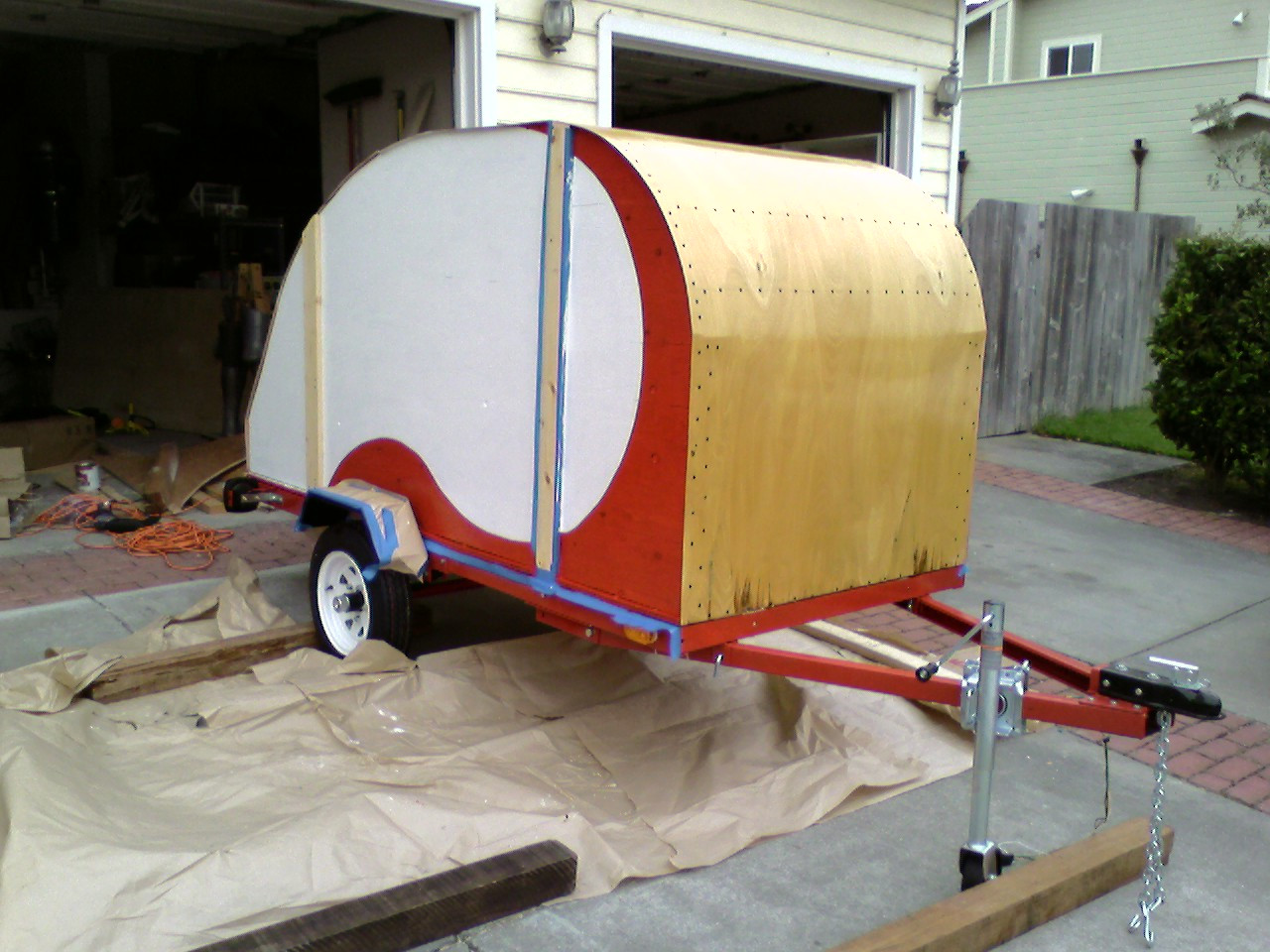 Best ideas about DIY Camper Trailer Kits . Save or Pin Build Your Own RV With Kits & Plans For Teardrop Trailers Now.