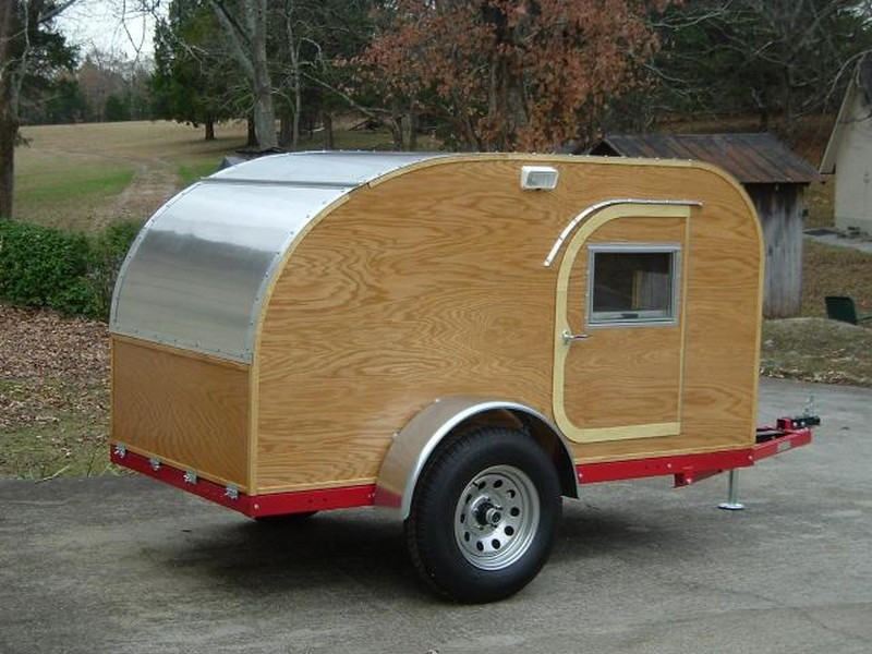 Best ideas about DIY Camper Trailer Kits . Save or Pin Build your own teardrop trailer from the ground up – The Now.