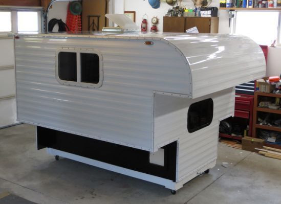 Best ideas about DIY Camper Trailer Kits . Save or Pin Homemade Pickup Camper Plans Camper Ideas Now.
