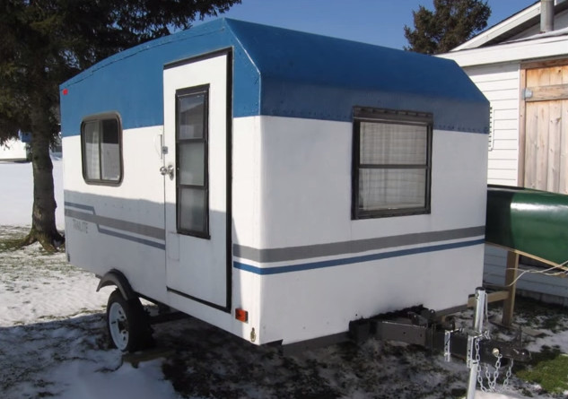 Best ideas about DIY Camper Trailer Kits . Save or Pin How Kevin Made This in Two Weeks I ll Never Know But Wow Now.