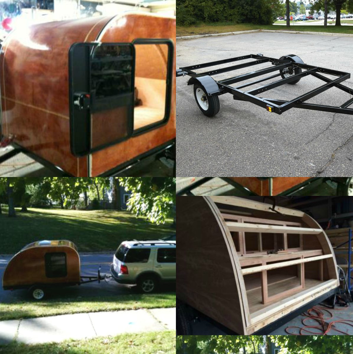 Best ideas about DIY Camper Trailer Kits . Save or Pin Ironton 5ft x 8ft Steel Utility Trailer Kit 1715 Lb Now.