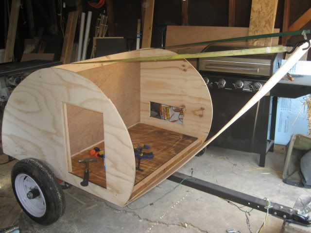 Best ideas about DIY Camper Trailer Kits . Save or Pin Motorcycle Teardrop Trailer Plans Now.