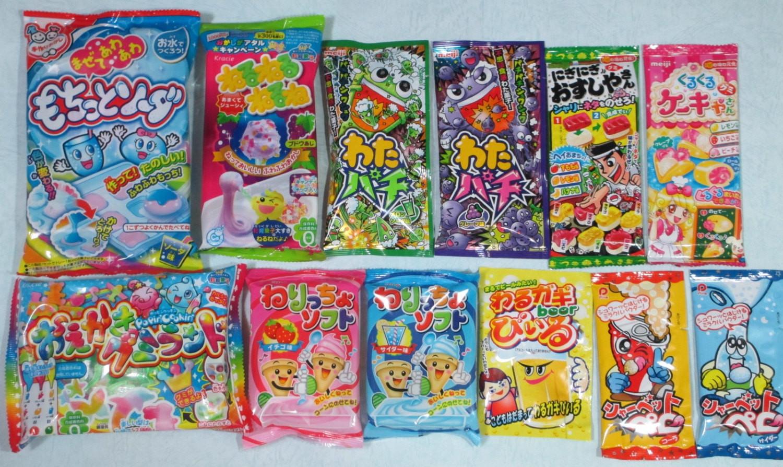Best ideas about DIY Candy Kit . Save or Pin 12PCS SET Japanese DIY Candy Kits Popin by NekomonjaKawaiiDIY Now.