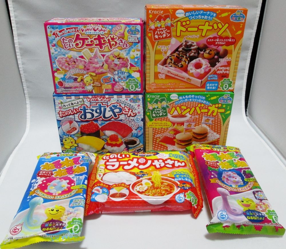 Best ideas about DIY Candy Kit . Save or Pin 7 pcs Kracie DIY making kit Happy Kitchen popin cookin Now.
