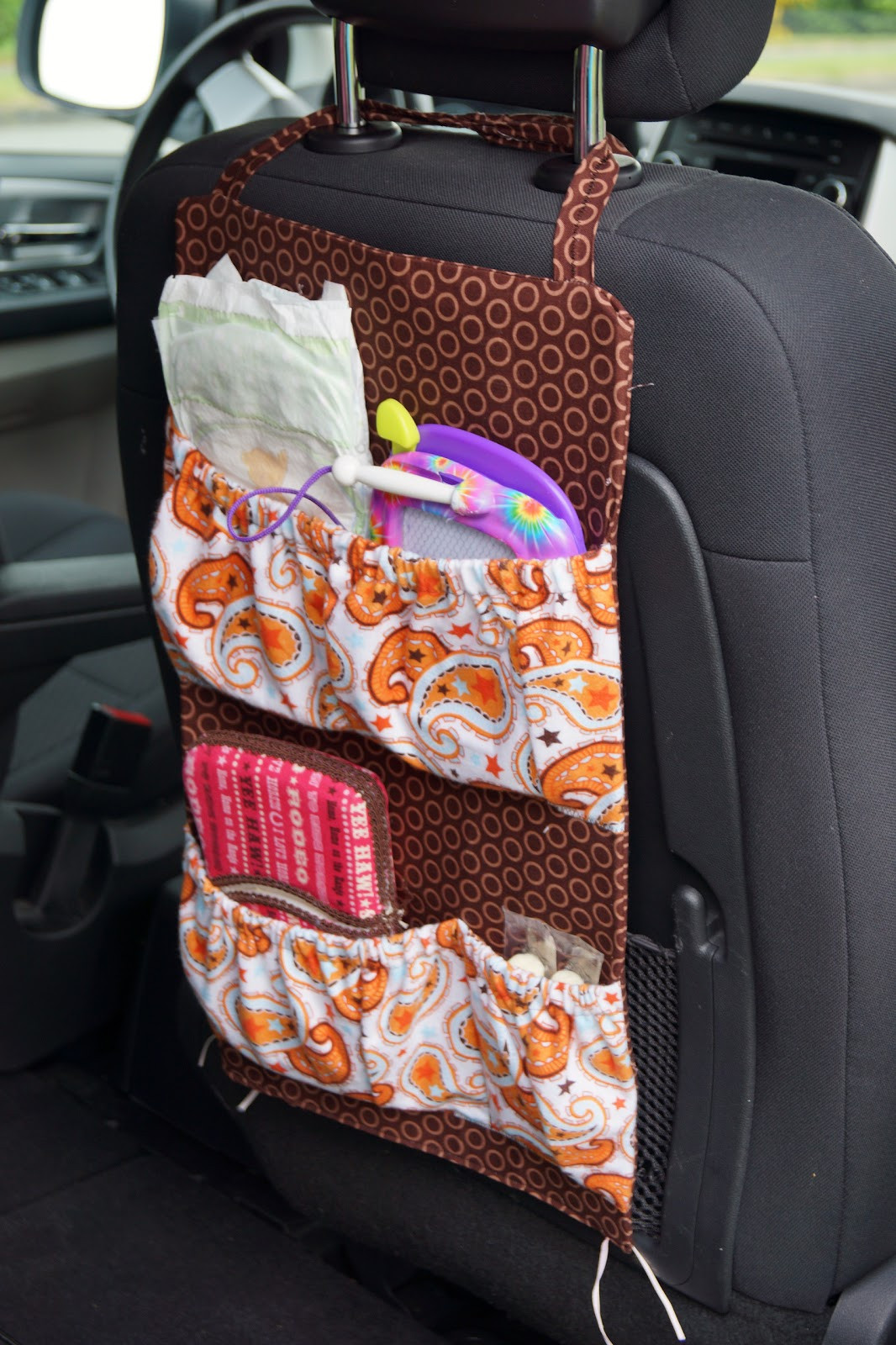 Best ideas about DIY Car Organizers . Save or Pin Kids Crocheting and Cupcakes Thrifty Thursday Car Junk Now.
