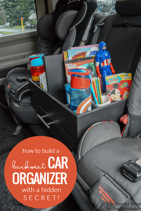 Best ideas about DIY Car Organizers . Save or Pin Remodelaholic Now.