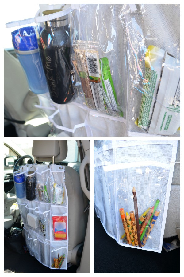 Best ideas about DIY Car Organizers . Save or Pin DIY Car Seat Organizer How to Change Your Cabin Air Now.