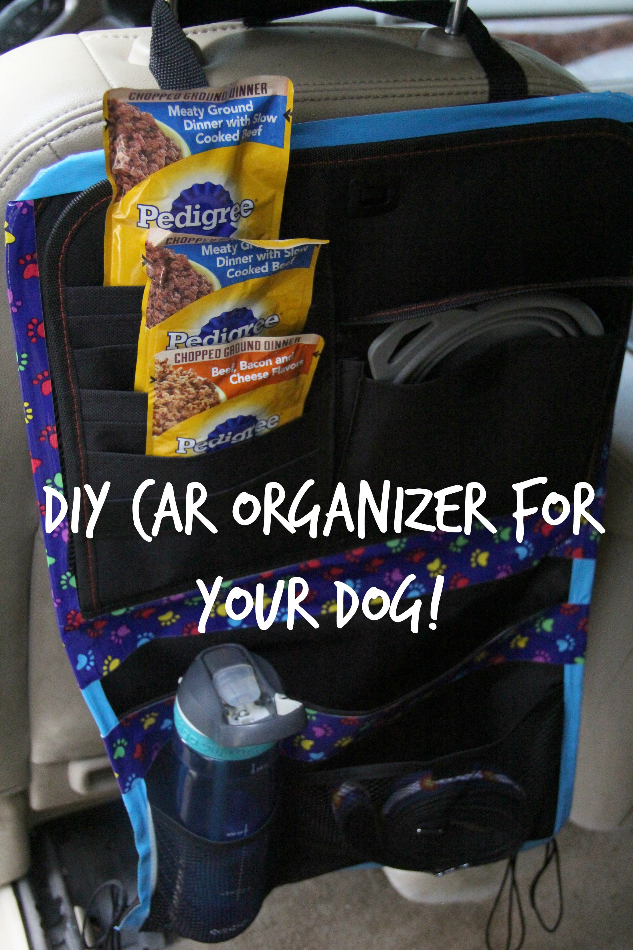 Best ideas about DIY Car Organizers . Save or Pin Check out this DIY Car organizer for your dog with Now.