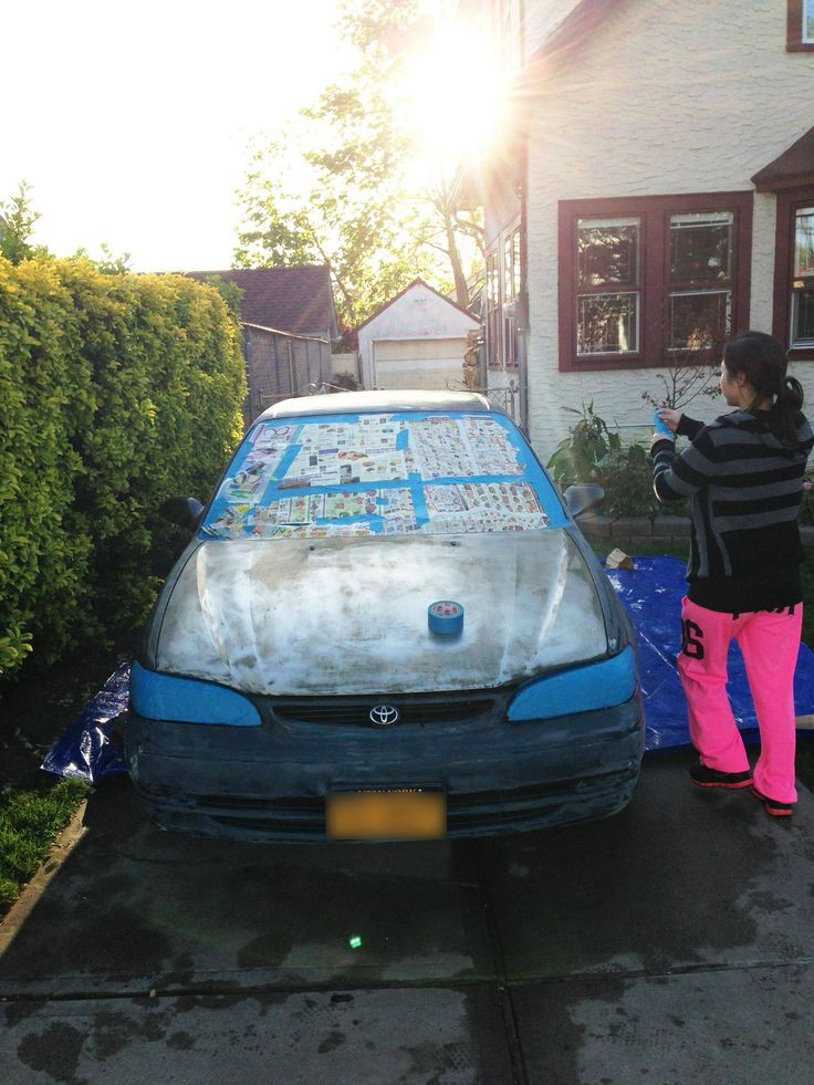 Best ideas about DIY Car Paint Jobs . Save or Pin DIY Cars Hacks Rolled on paint job – Rolla how to Now.