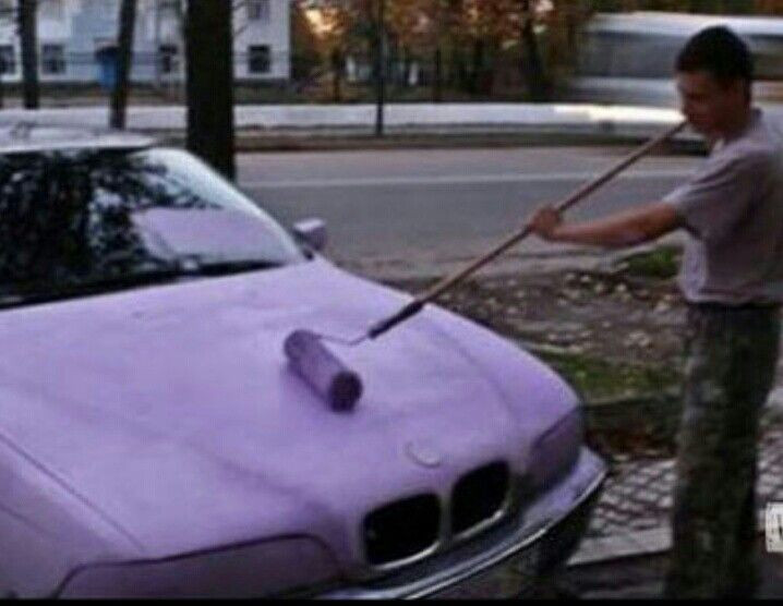 Best ideas about DIY Car Paint Jobs . Save or Pin DIY paint job on a BMW What would the Kelly Blue Book Now.