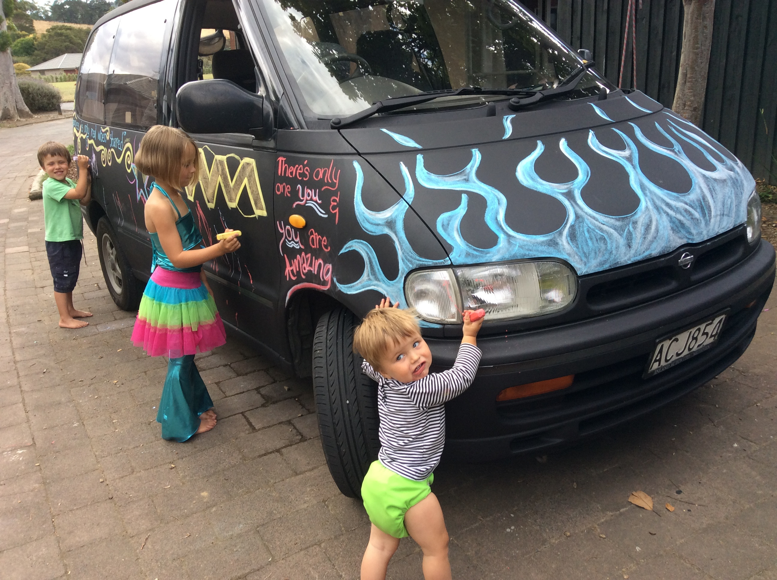 Best ideas about DIY Car Paint Jobs . Save or Pin Thrifty Fun DIY Chalkboard Paint Car Job Now.