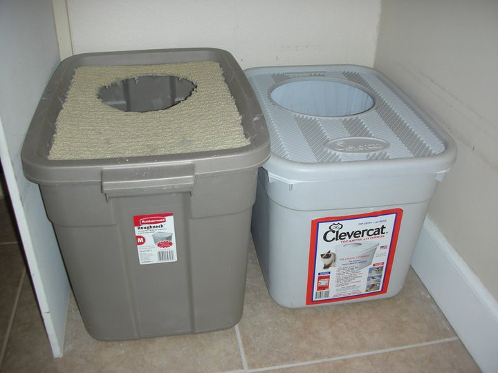 Best ideas about DIY Cat Litter Boxes . Save or Pin DIY Top Entry Litter Box Now.