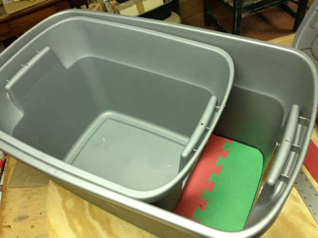 """Best ideas about DIY Cat Litter Boxes . Save or Pin """"Dog Proof"""" Cat Litter Box 2 Now."""