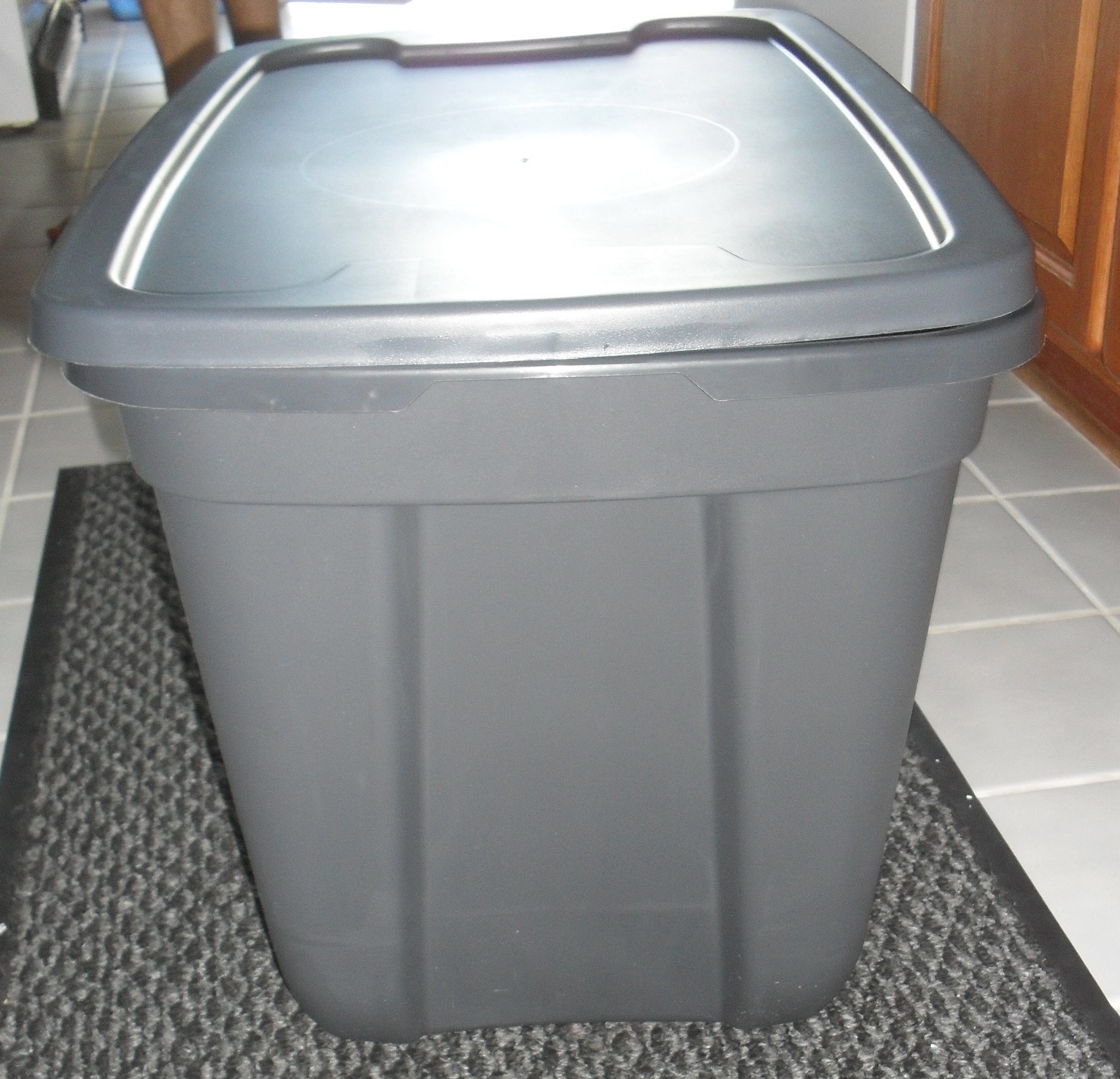 Best ideas about DIY Cat Litter Boxes . Save or Pin DIY Cat Litter Box Tasteful Space Now.