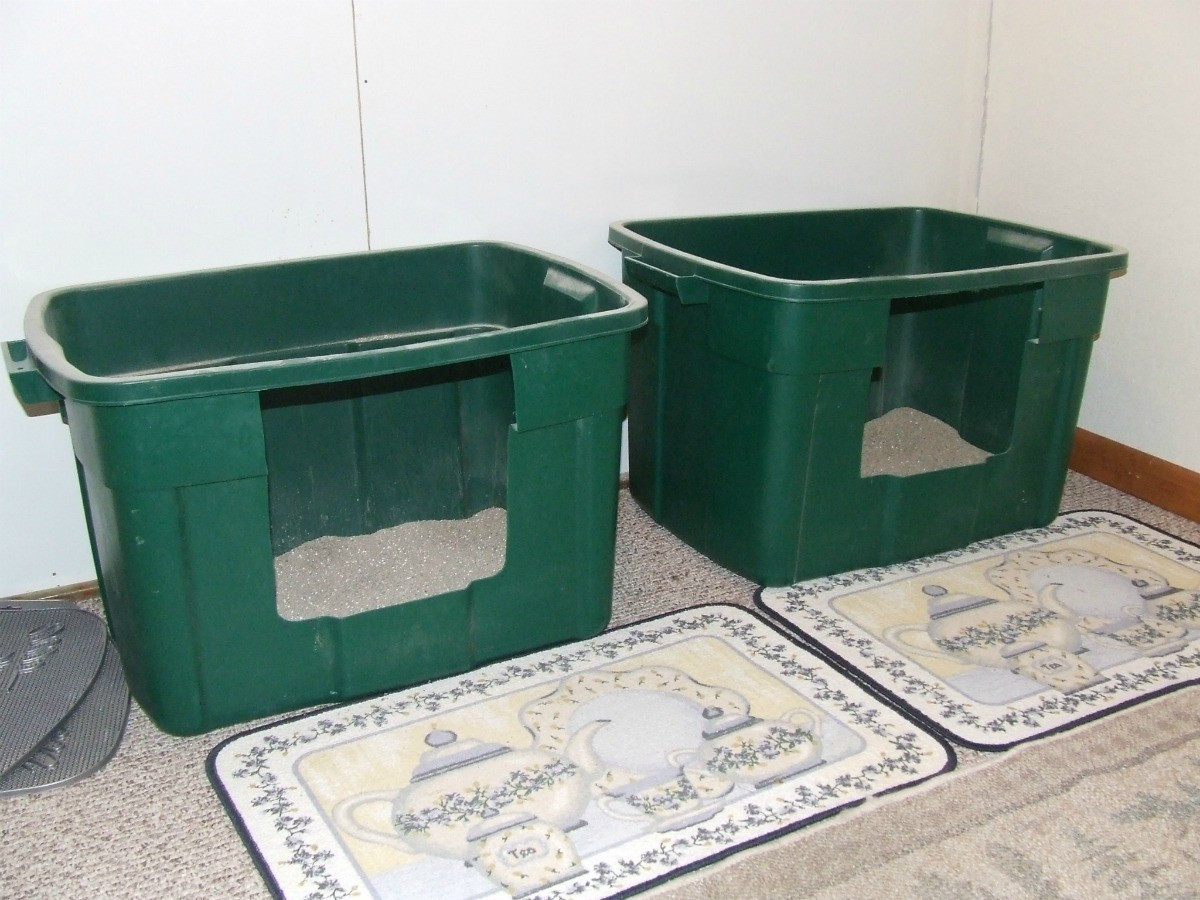 Best ideas about DIY Cat Litter Boxes . Save or Pin Homemade Cat Litter Box Ideas Now.