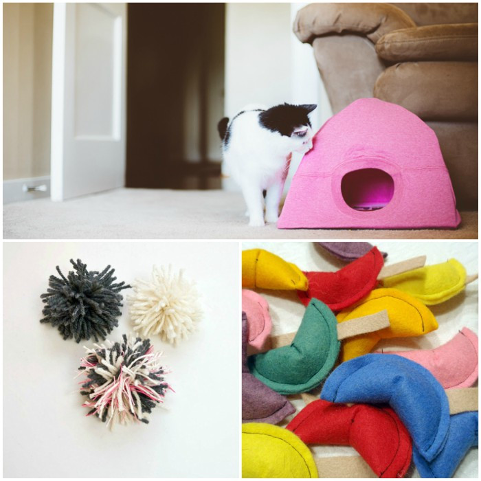 Best ideas about DIY Catnip Toys . Save or Pin 15 Easy DIY Cat Toys You Can Make for Your Kitty TODAY Now.