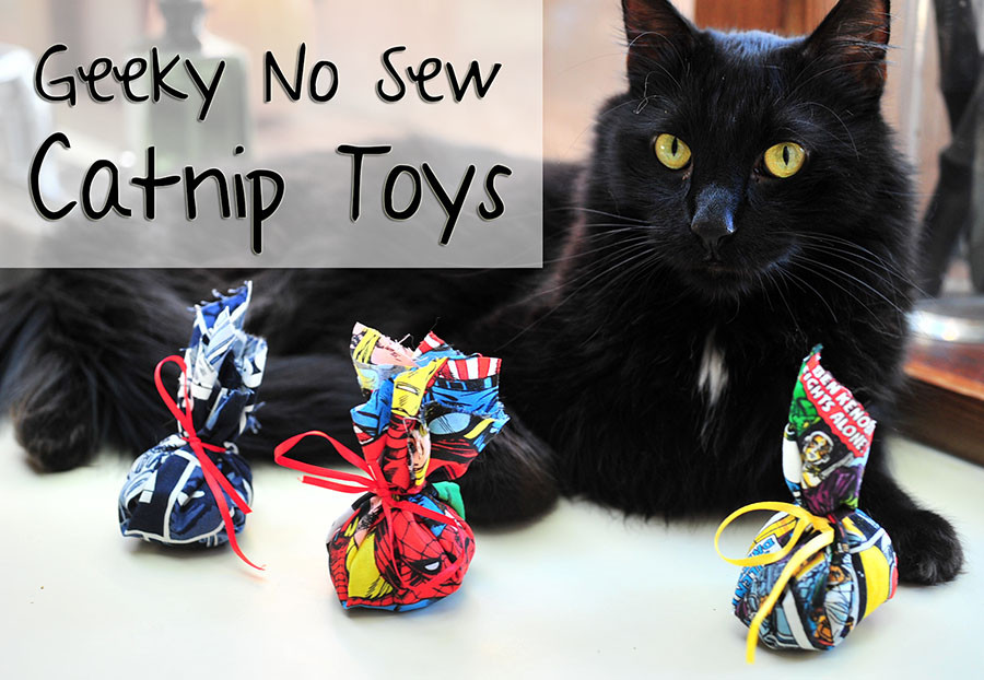 Best ideas about DIY Catnip Toys . Save or Pin Geeky No Sew Catnip Toys – Domestic Geek Girl Now.