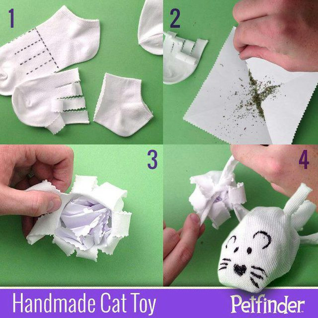 Best ideas about DIY Catnip Toys . Save or Pin 15 Fantastic DIY Toys For Your Cat Now.