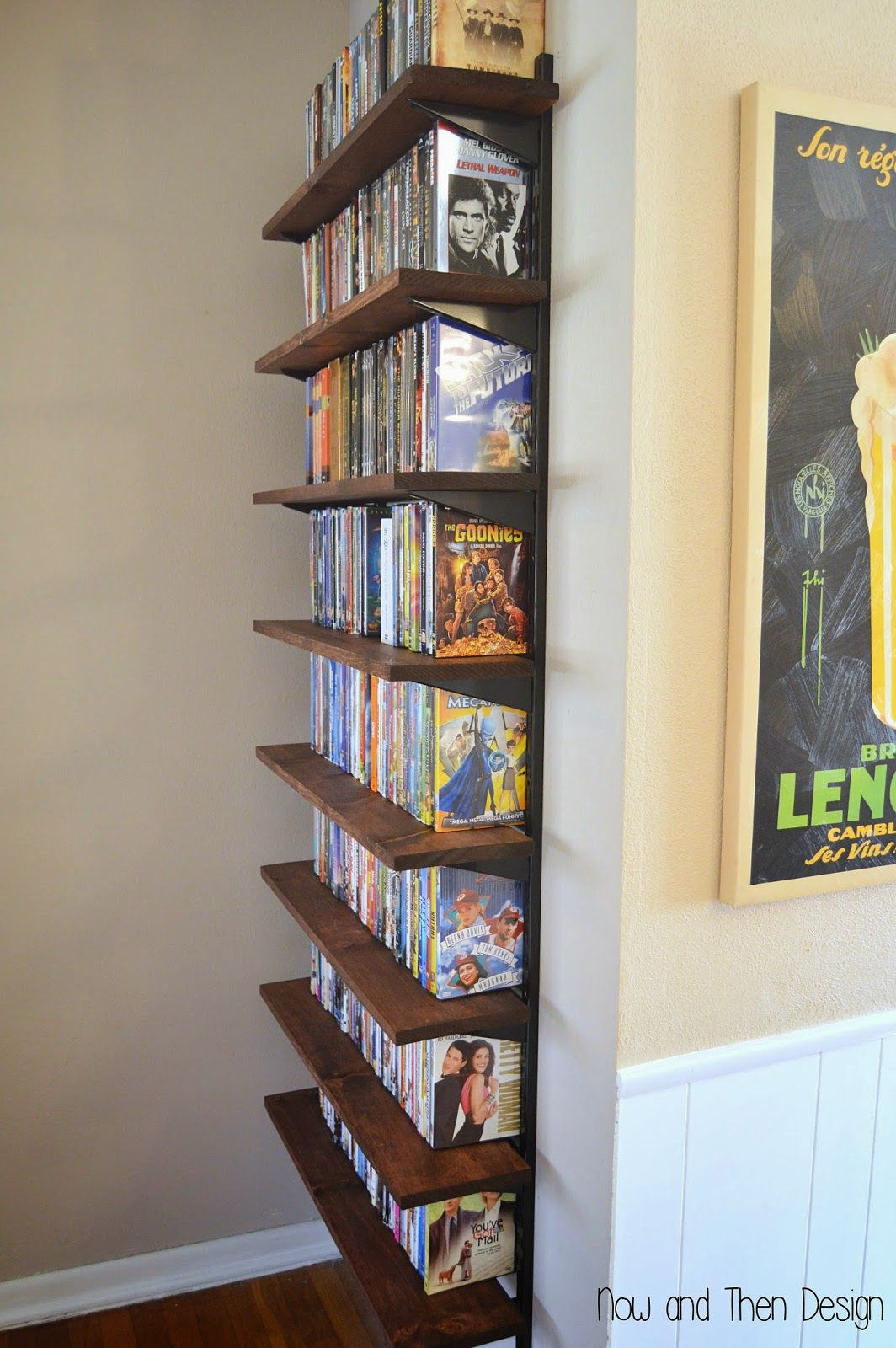 Best ideas about DIY Cd Storage . Save or Pin 20 Unique DVD Storage Ideas to Try for A Movie Addict Now.