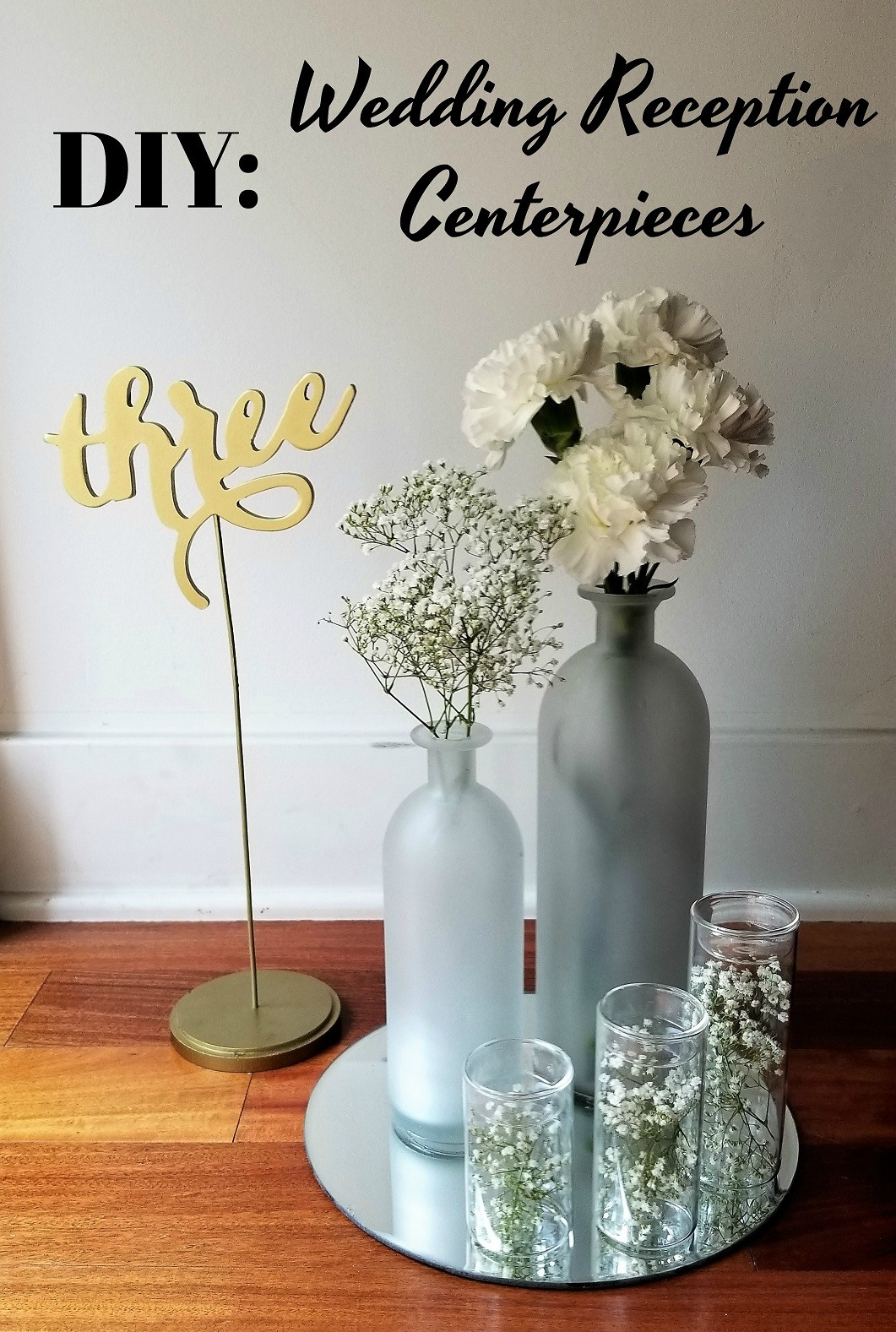 Best ideas about DIY Centerpieces For Wedding Receptions . Save or Pin DIY Inexpensive Wedding Reception Centerpieces La Vie en Now.