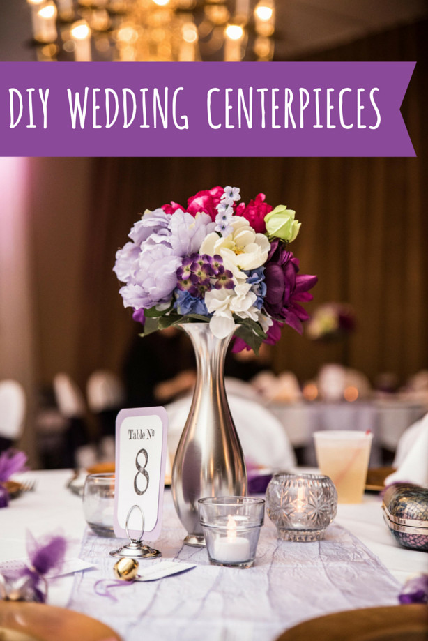 Best ideas about DIY Centerpieces For Wedding Receptions . Save or Pin How to Make DIY Wedding Centerpieces for $7 Per Table – Oh Now.