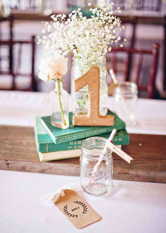 Best ideas about DIY Centerpieces For Wedding Receptions . Save or Pin 105 Best images about DIY Wedding Centerpieces on Now.