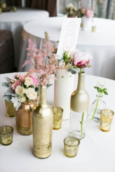 Best ideas about DIY Centerpieces For Weddings . Save or Pin 18 DIY Wedding Centerpieces on a Bud Now.