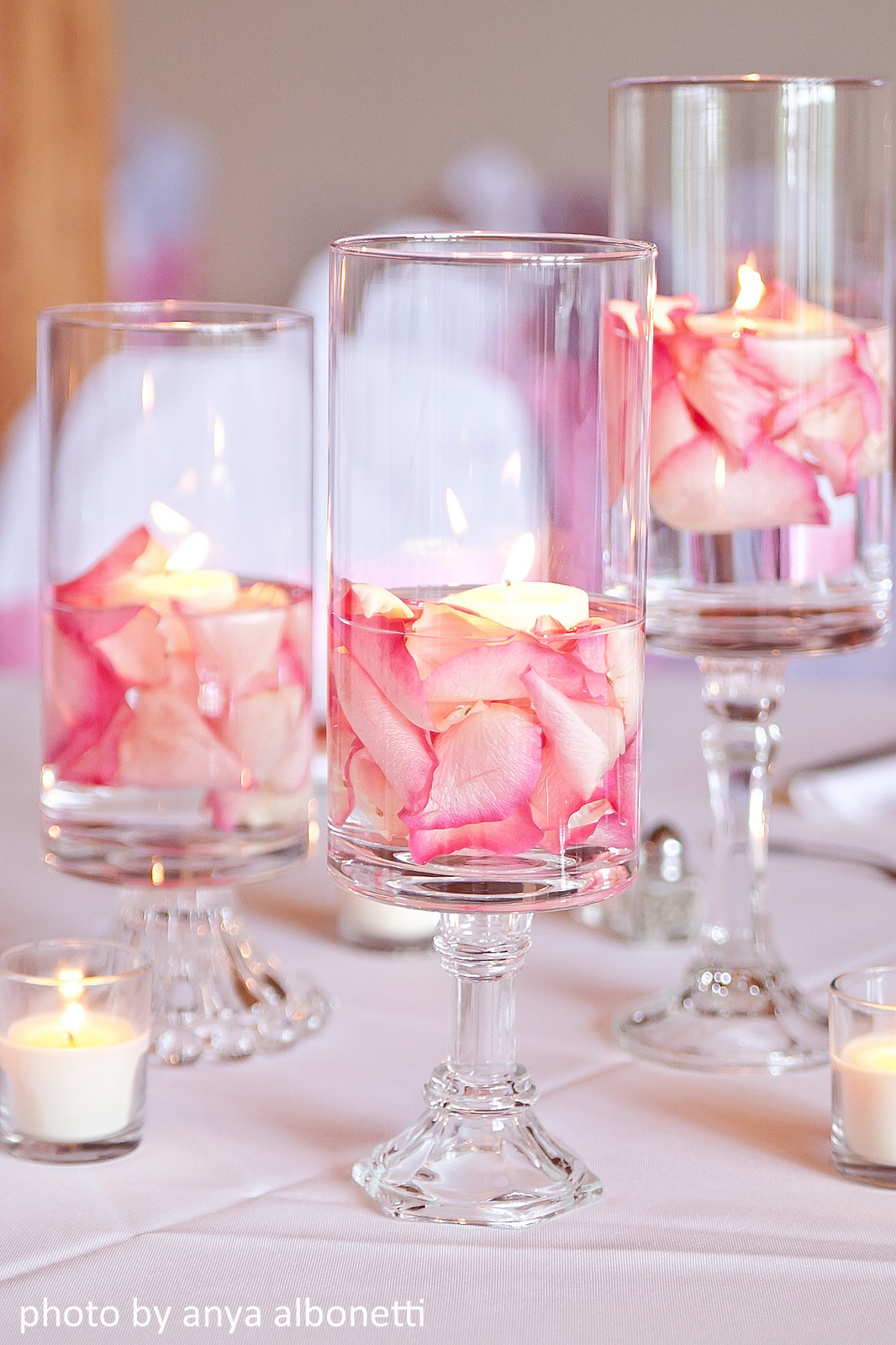 Best ideas about DIY Centerpieces Wedding . Save or Pin Our Wedding The Details Now.