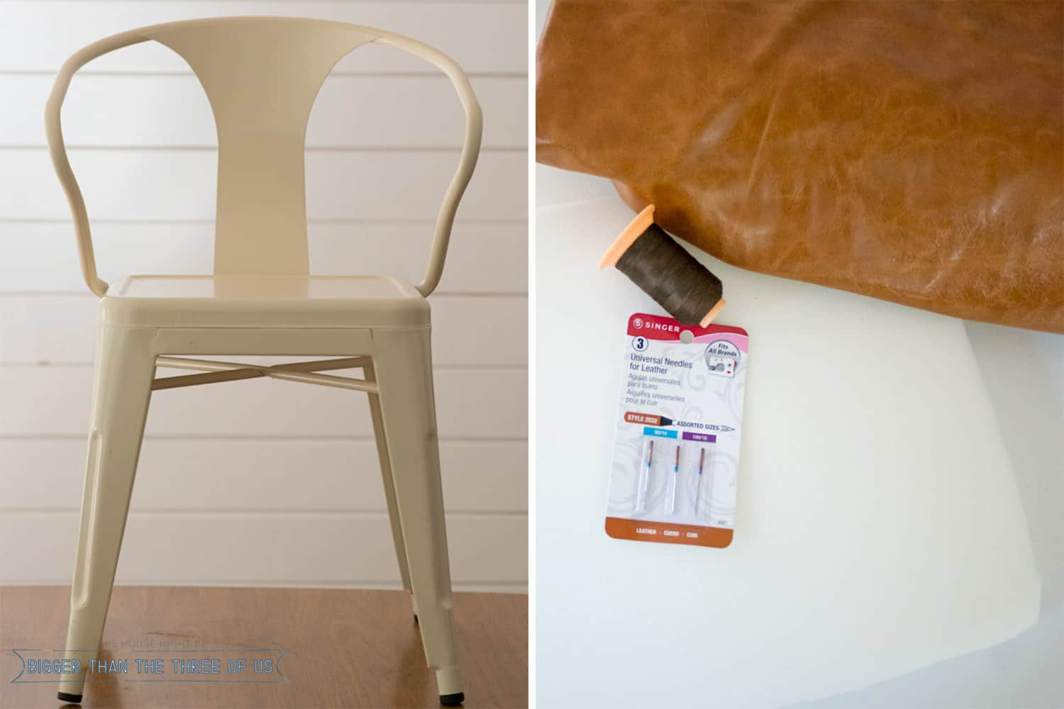 Best ideas about DIY Chair Cushion . Save or Pin Modern DIY Leather Chair Cushion Now.