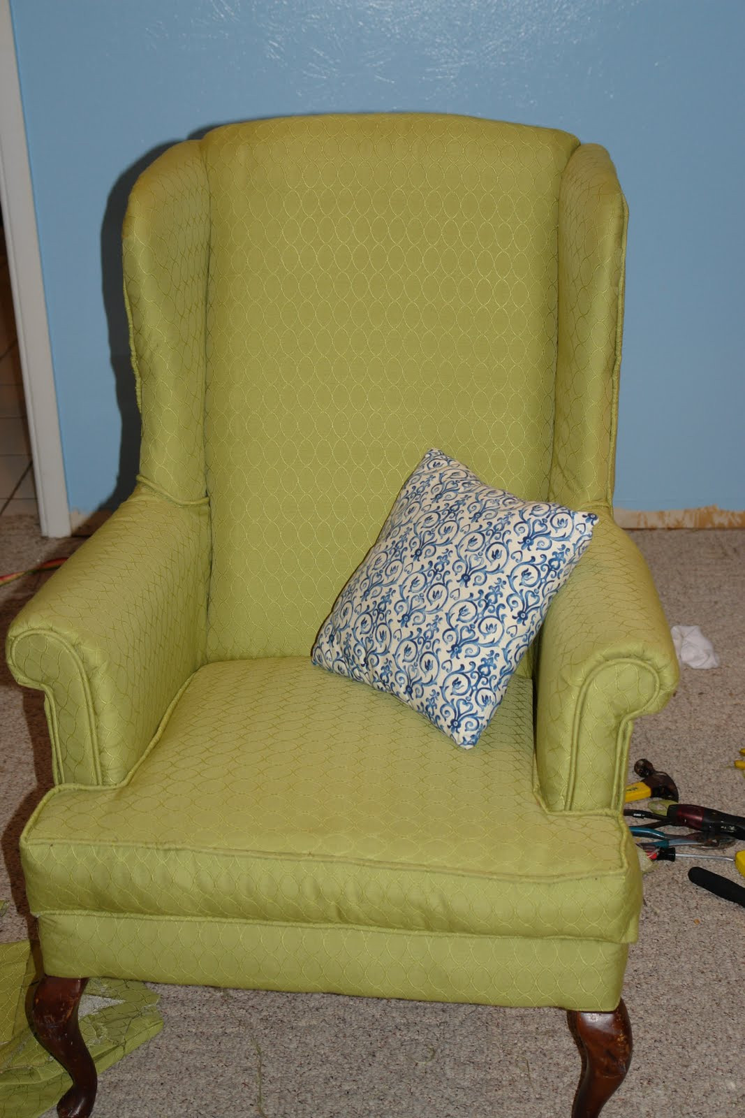 Best ideas about DIY Chair Cushion . Save or Pin NachoMatic Designs DIY Seat Cushion Now.
