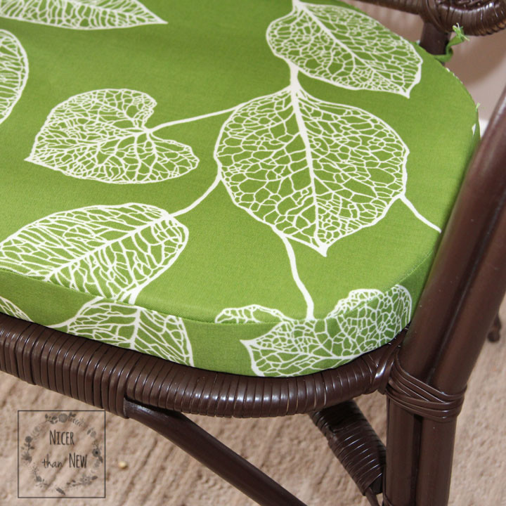 Best ideas about DIY Chair Cushion . Save or Pin Tutorial DIY Custom Shaped Chair Cushions Nicer Than New Now.