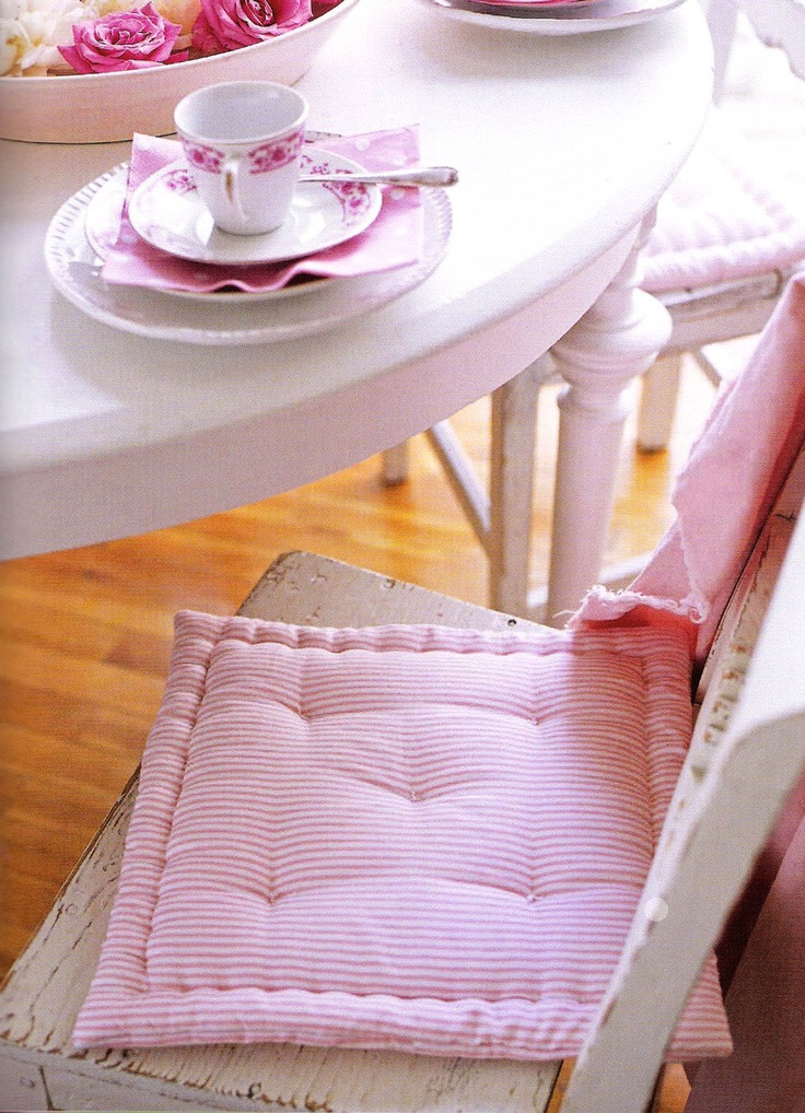 Best ideas about DIY Chair Cushion . Save or Pin 33 best images about KITCHEN CHAIR CUSHIONS DIY on Now.