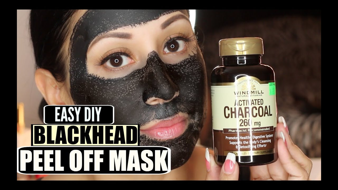 Best ideas about DIY Charcoal Blackhead Mask . Save or Pin Easy DIY Blackhead Remover Peel f Mask Peeling off Now.