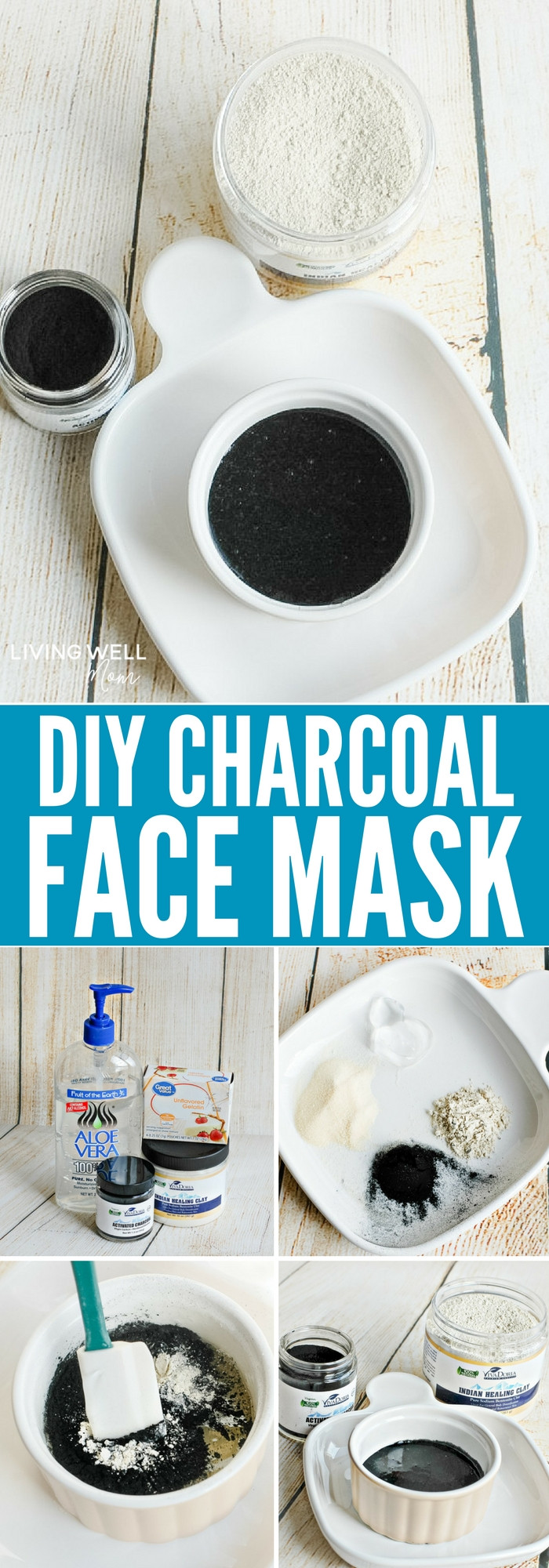 Best ideas about DIY Charcoal Face Mask . Save or Pin DIY Charcoal Face Mask Recipe Living Well Mom Now.