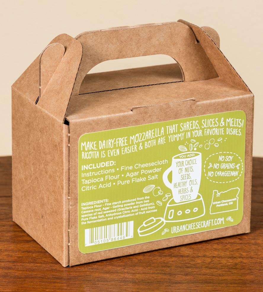 Best ideas about DIY Cheese Kit . Save or Pin DIY Vegan Mozzarella & Ricotta Cheese Kit Now.