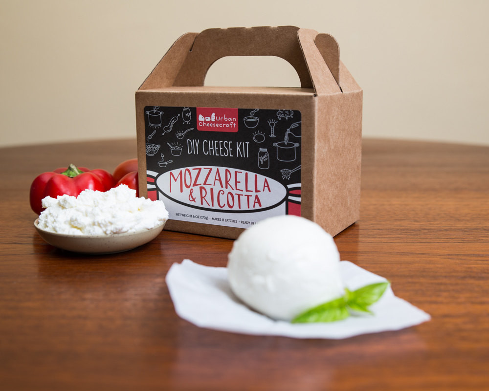 Best ideas about DIY Cheese Kit . Save or Pin Mozzarella & Ricotta DIY Cheese Kit 8 batches by Now.