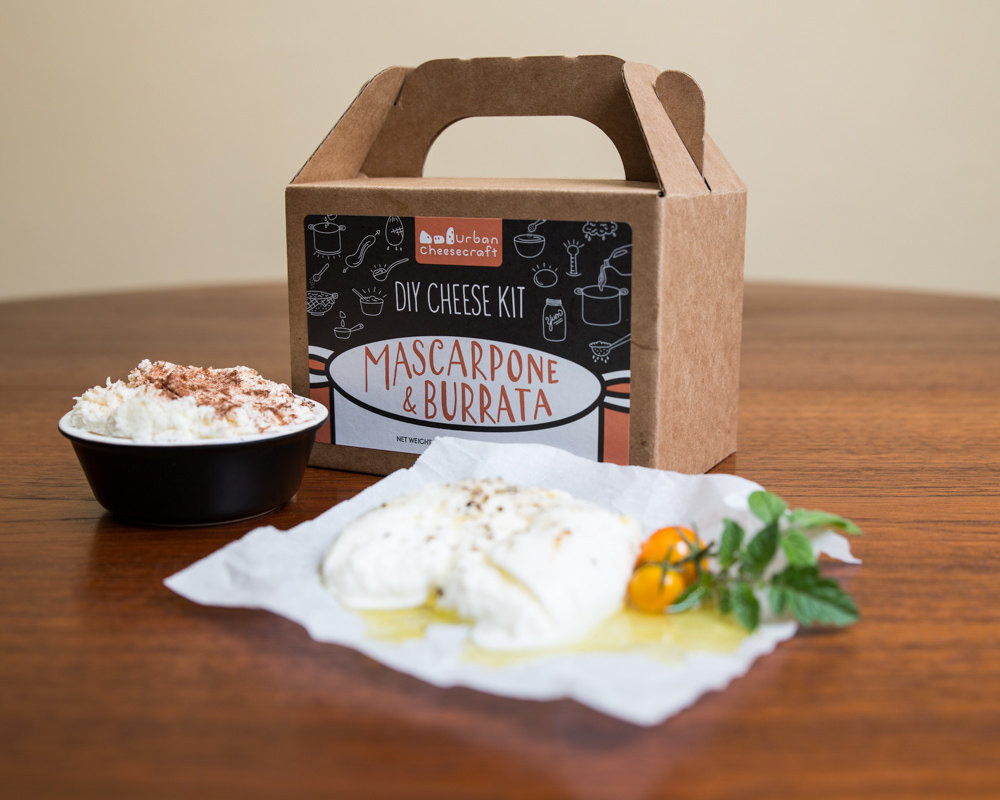 Best ideas about DIY Cheese Kit . Save or Pin Burrata & Mascarpone DIY Cheese Kit 8 batches cow milk Now.