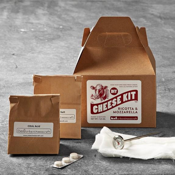 Best ideas about DIY Cheese Kit . Save or Pin DIY Mozzarella Ricotta Cheese Making Kit from Williams Sonoma Now.
