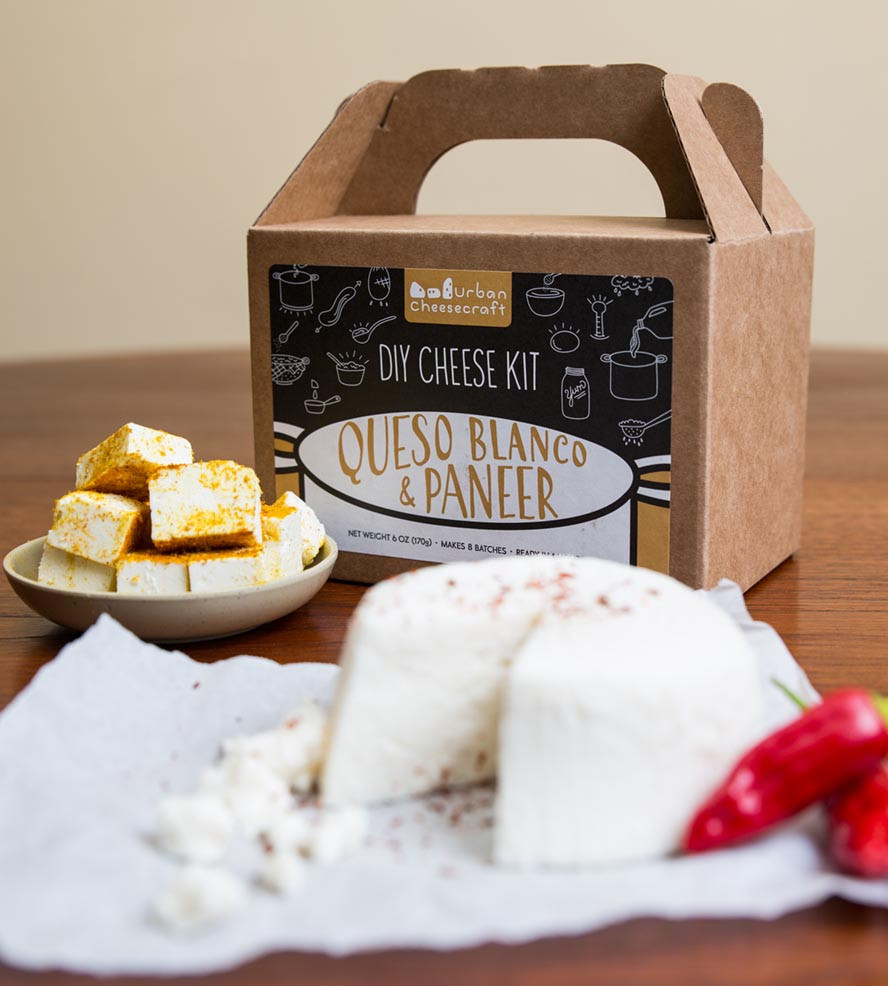 Best ideas about DIY Cheese Kit . Save or Pin DIY Paneer & Queso Blanco Cheese Kit Now.