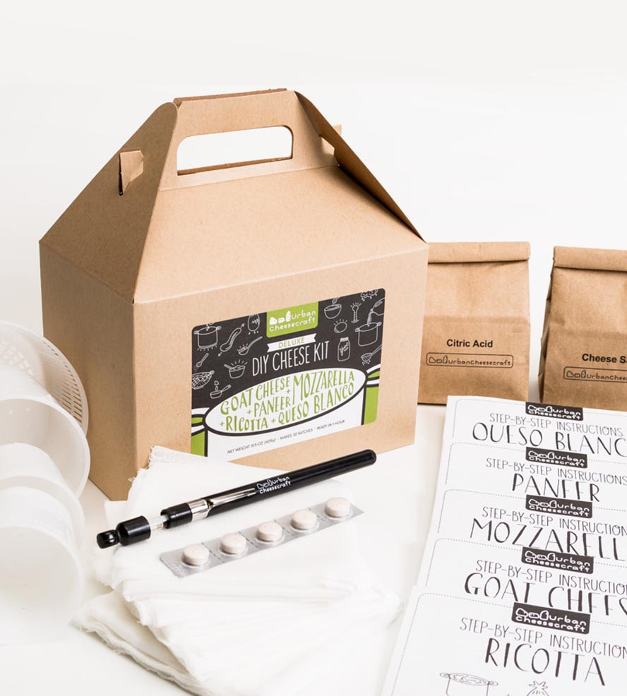 Best ideas about DIY Cheese Kit . Save or Pin Deluxe DIY Cheese Kit Features Farmer s Market Now.