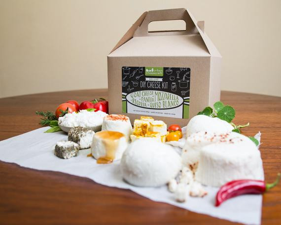 Best ideas about DIY Cheese Kit . Save or Pin Deluxe DIY Cheese Kit Make Mozzarella Ricotta by Now.
