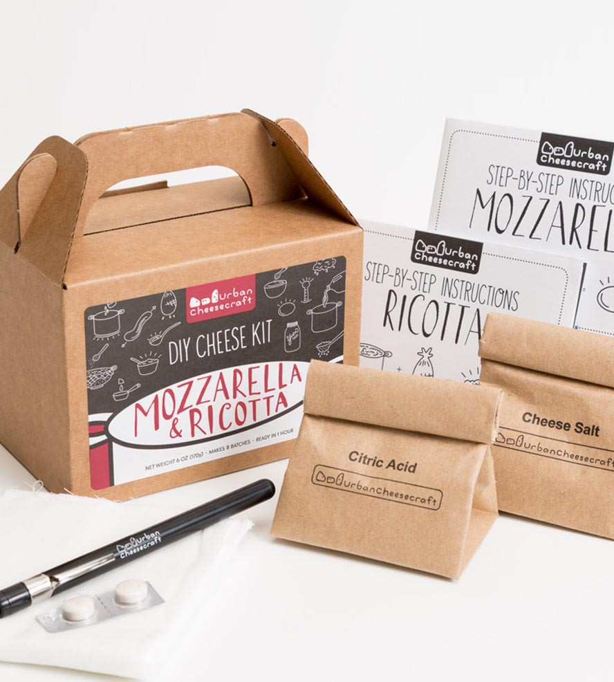 Best ideas about DIY Cheese Kit . Save or Pin DIY Mozzarella & Ricotta Cheese Kit Now.