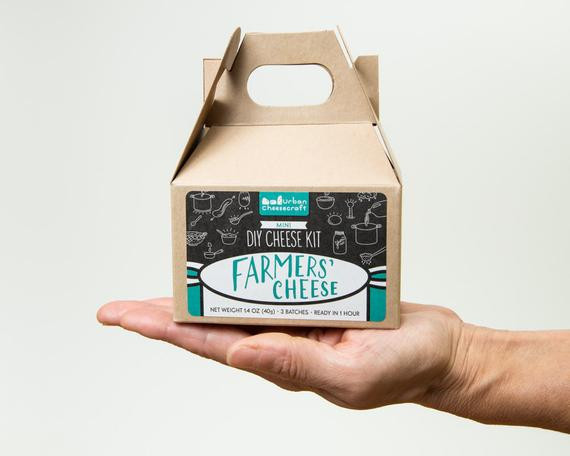 Best ideas about DIY Cheese Kit . Save or Pin Mini DIY Farmers Cheese Kit 3 5 batches cow milk Now.