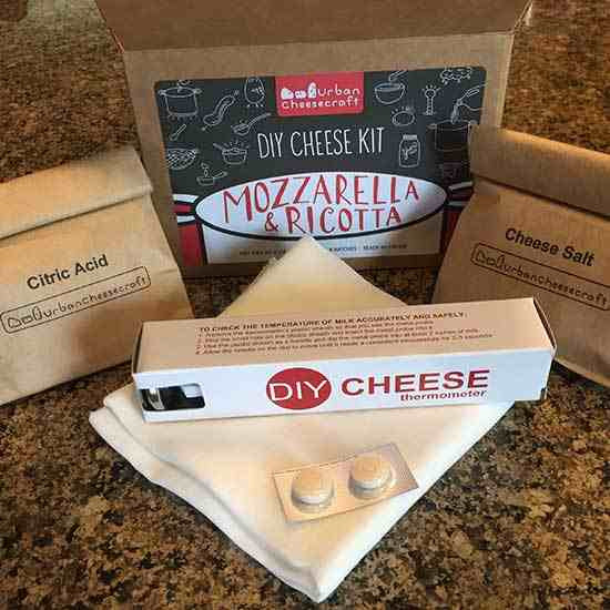 Best ideas about DIY Cheese Kit . Save or Pin Testing the Urban Cheesecraft DIY Cheese Kit Real Food Now.