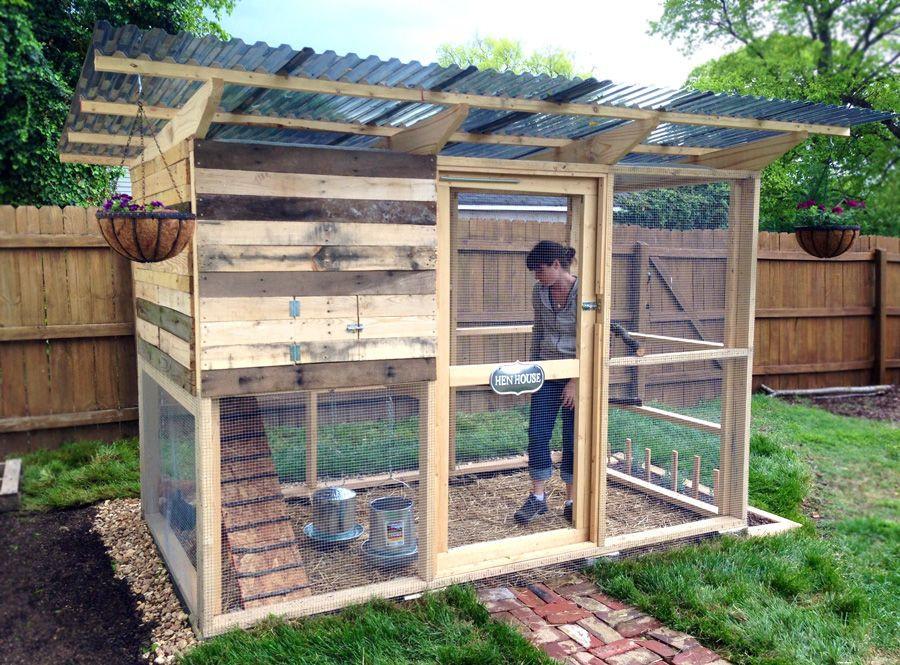 Best ideas about DIY Chicken Coop Plans . Save or Pin Garden Coop from DIY Chicken Coop Plans Now.
